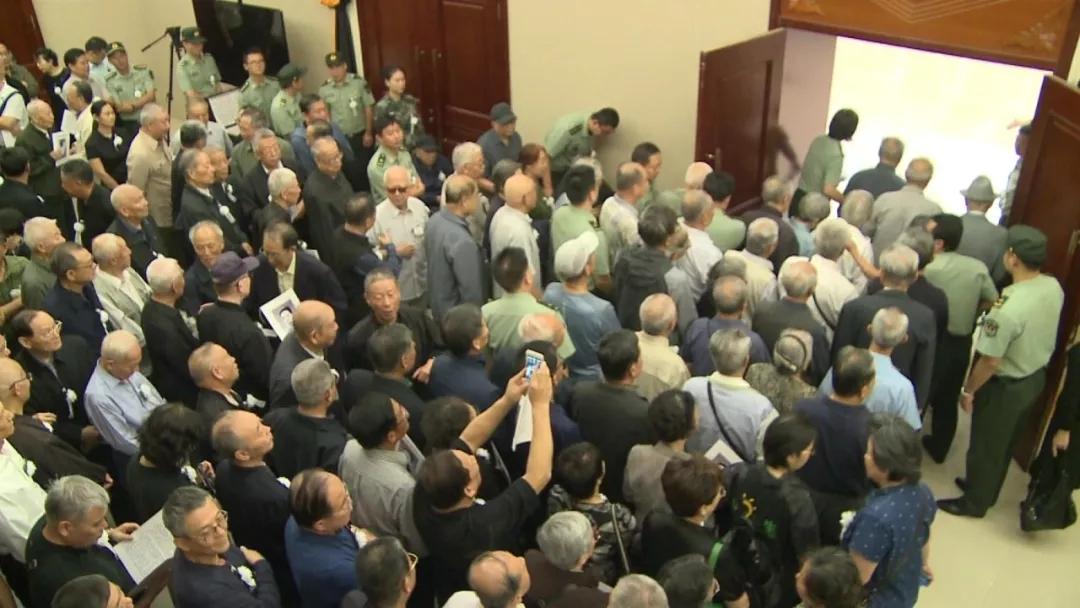 张中如将军告别仪式在解放军总医院第二医学中心告别厅举行