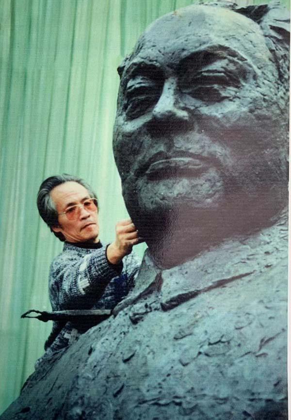 美术印记70年③|章永浩讲述《陈毅市长像》创作之路