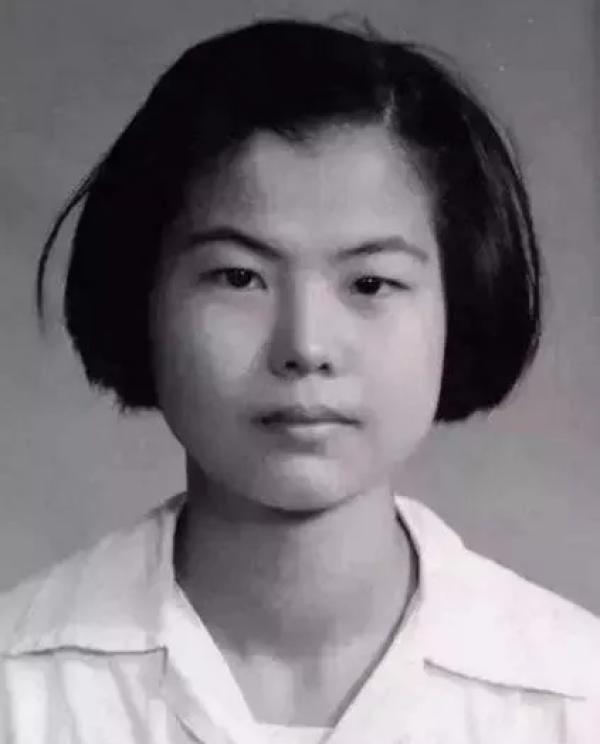 少女时期的樊锦诗