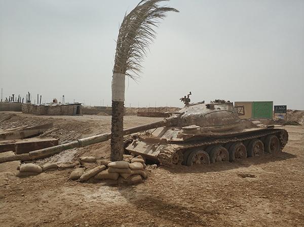 霍拉姆沙赫尔的战争纪念馆外景。本文图片均由作者拍摄