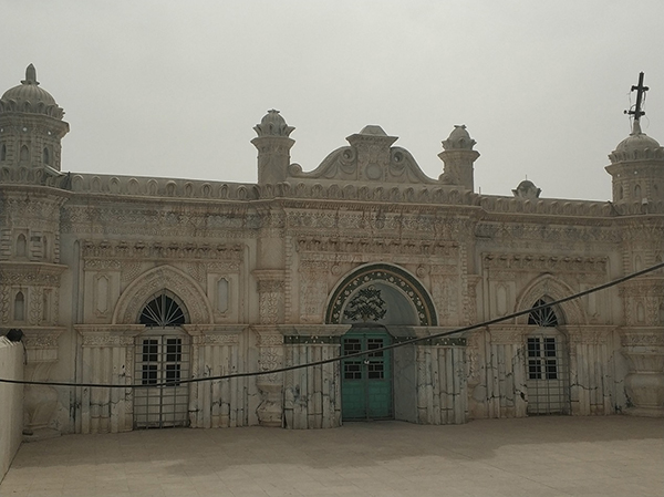 阿巴丹的仰光清真寺。