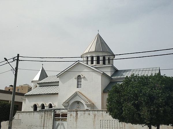亚美尼亚阿巴丹教堂。