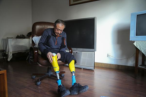 """对话""""无腿勇士""""夏伯渝:架设中国梯,他把双腿献给了珠峰"""