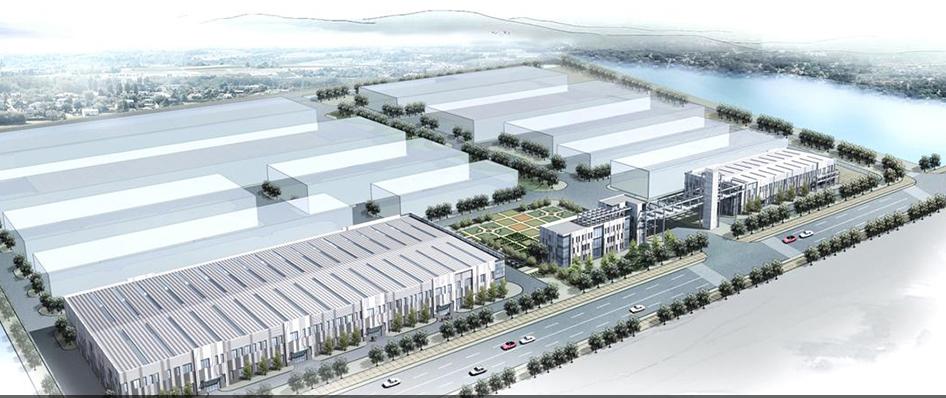 上海外高桥(启东)产业园(效果图)。上海外高桥集团股份有限公司官网 图