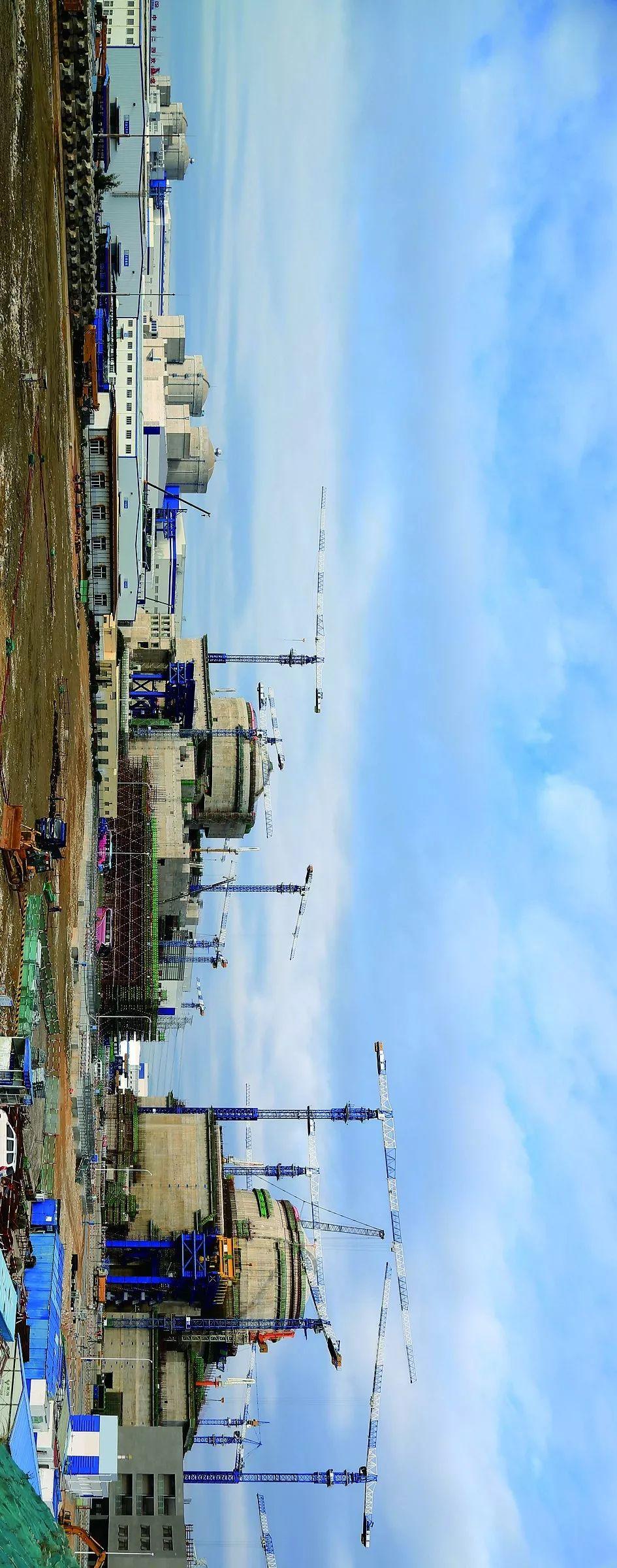 福清核电站,其5、6号机组为「华龙一号」