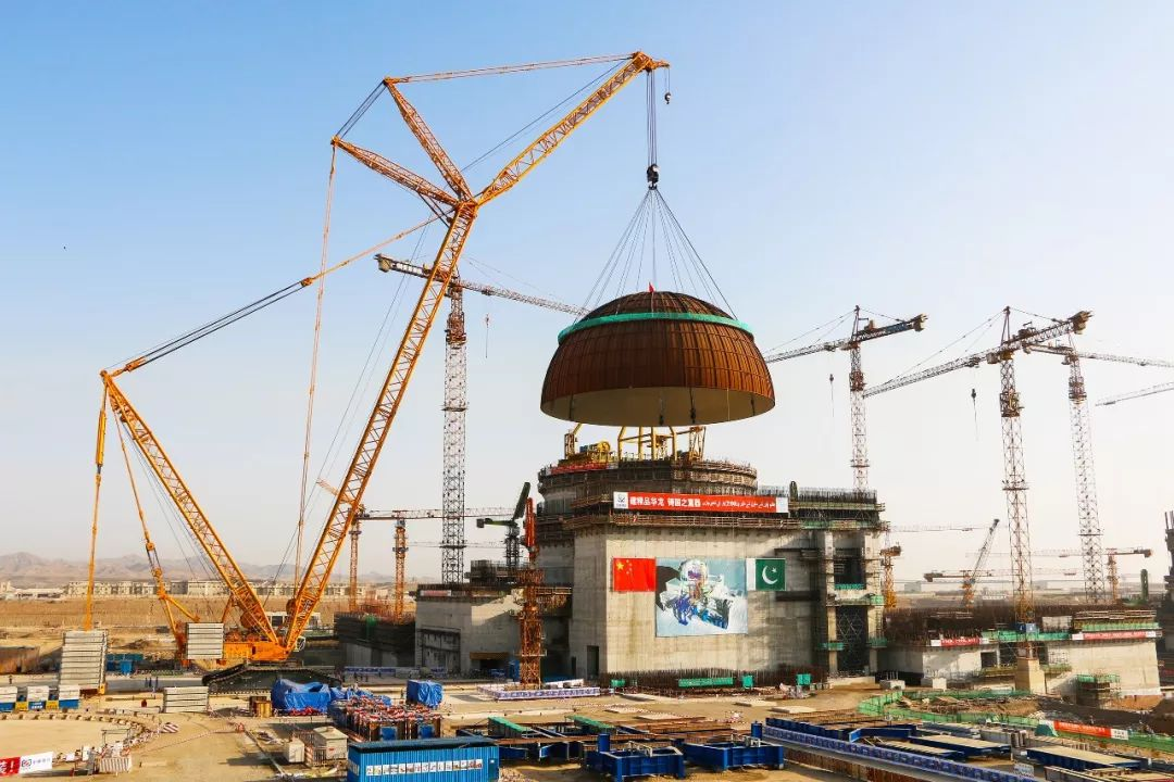 海外首座「华龙一号」——巴基斯坦卡拉奇核电站2号机组