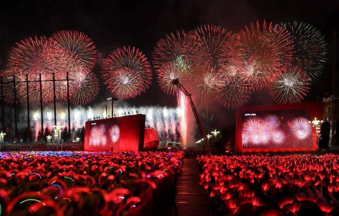 这是联欢活动现场。新华社记者 陶希夷 摄