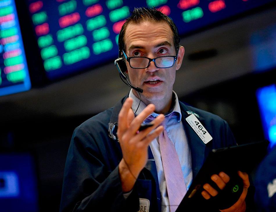 当地时间2019年10月11日,美国纽约,纽交所内场景。美股三大指数期货全线大涨。 视觉中国 图
