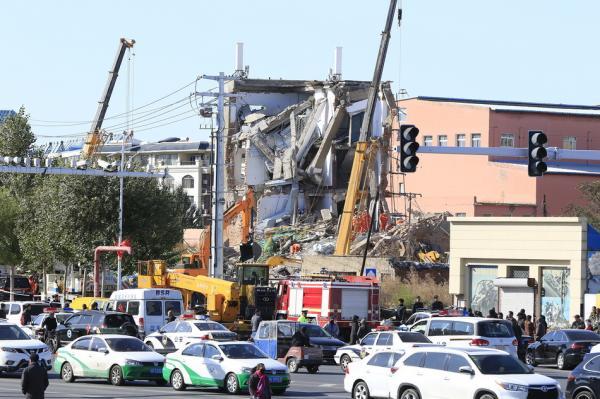 吉林白城农商行办公楼坍塌事故搜救结束:事故致5人死4人伤