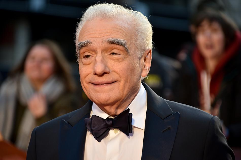当地时间2019年10月13日,英国伦敦,第63届伦敦电影节,大导演马丁·斯科塞斯(Martin Scorsese)出席《爱尔兰人》(The Irishman)首映。 视觉中国 图