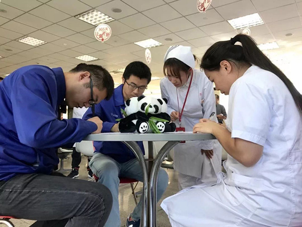 上海实战演练进博会特殊血型保障,志愿者不到两小时完成献血