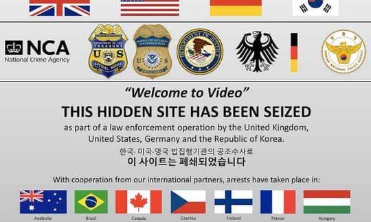 韩国一大型性侵儿童暗网被捣毁,多国警方联合行动逮捕数百人