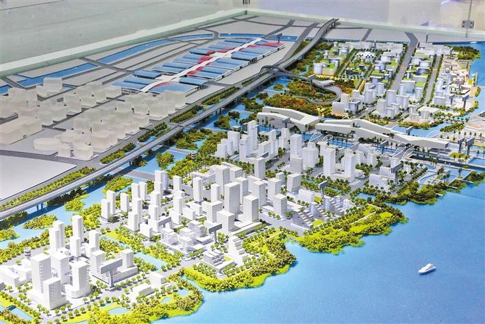 深圳海洋新城揭开神秘面纱,规划面积7.44平方公里