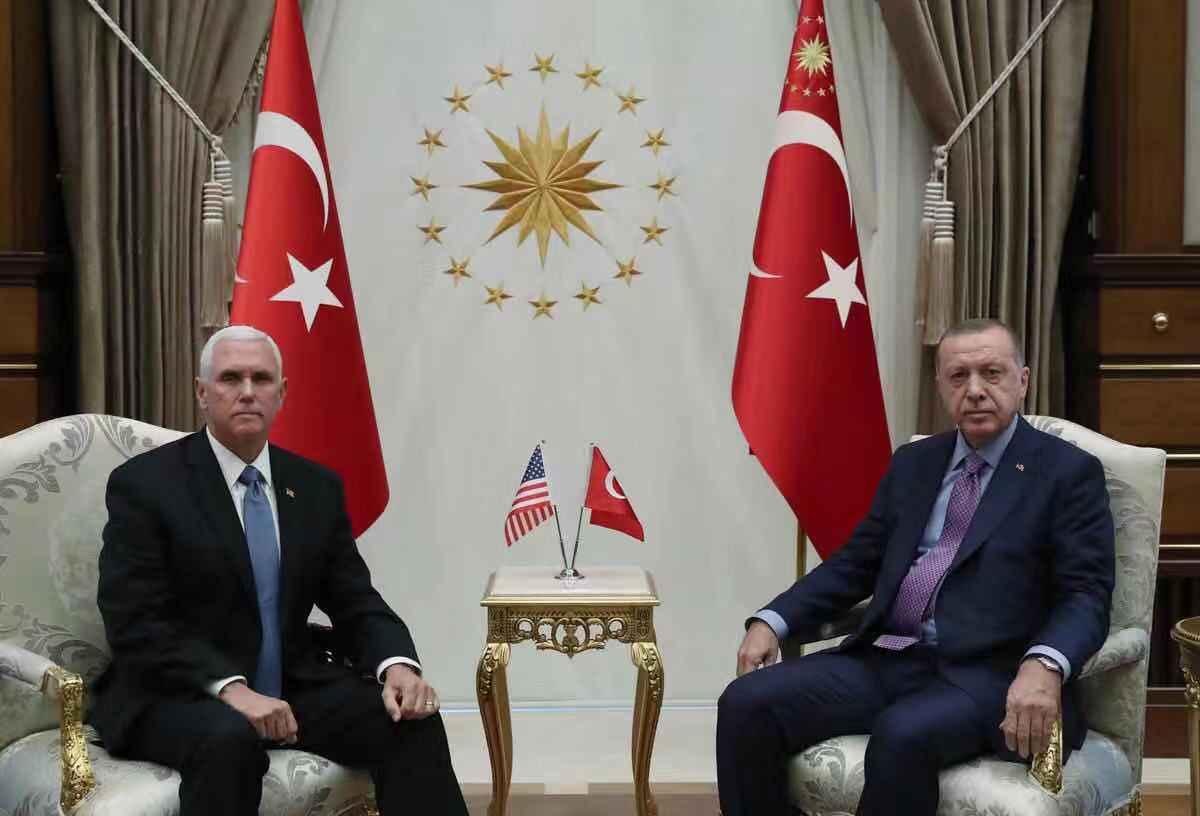 美土达成停火协议:土耳其将暂停在叙军事行动120小时