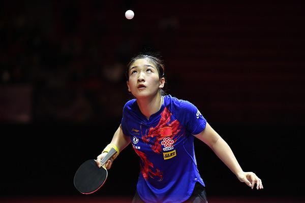 女乒世界杯今日开赛:刘诗雯冲五冠王,朱雨玲盼回升状态