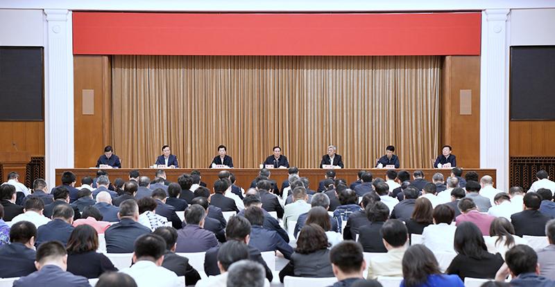 """李强会上作部署:上海市级机关党建要做到""""三个坚定不移"""""""