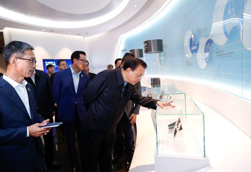 """李克强西安考察""""三星"""":高科技合作一定会带来高附加值回报"""