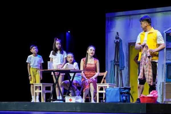 艺术节来了首部原创儿童音乐剧,演员平均年龄10岁
