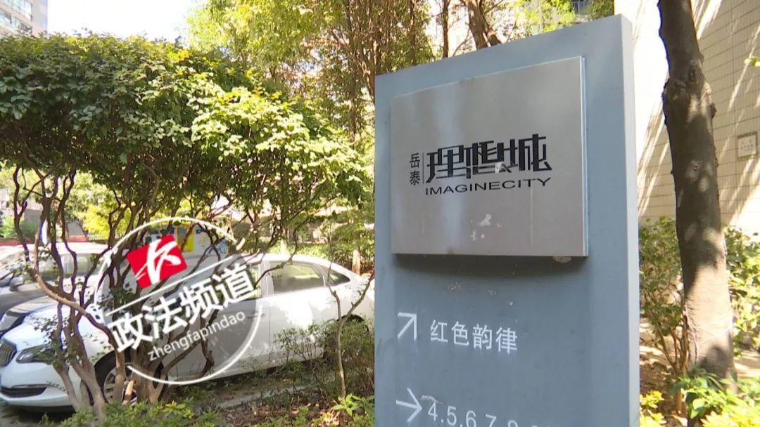 """长沙一小区洒30000元""""钞票雨""""?物业辟谣:6年前视频"""