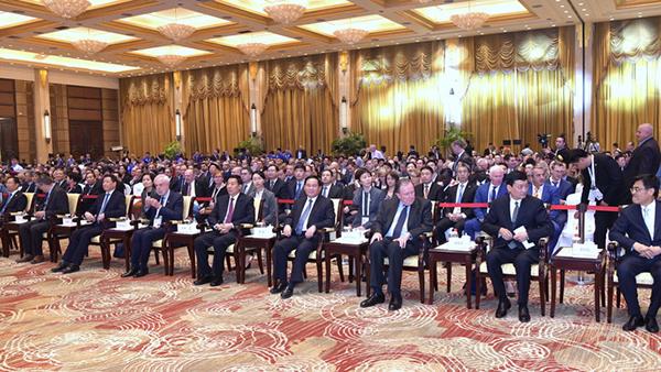 习近平主席发来贺信的这个高级别国际会议上,李强王勇这样说