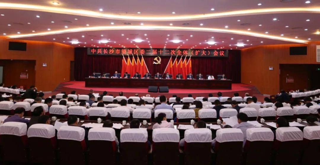 区委二届十二次全体(扩大)会议召开 奋力走在制造业高质量发展前列