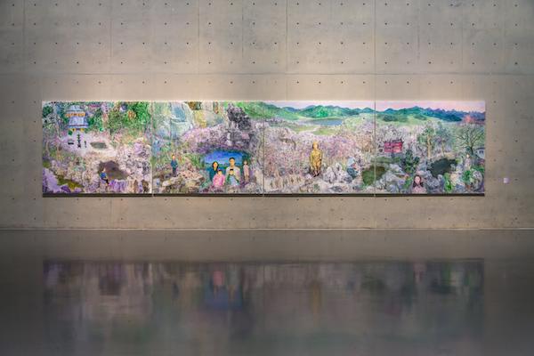 回顾周春芽四十余年艺术之路尽在龙美术馆