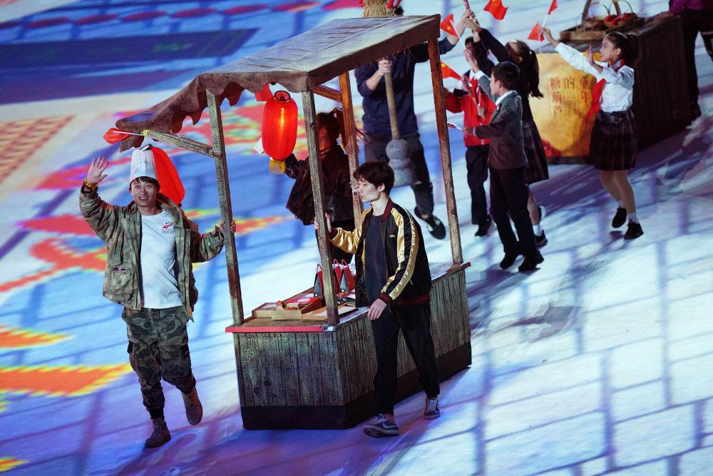 10月27日,第七届世界武士活动会终结式在武汉举走。