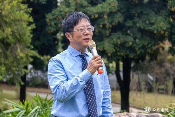 苏轼学会会长、四川大学周裕锴教授讲话