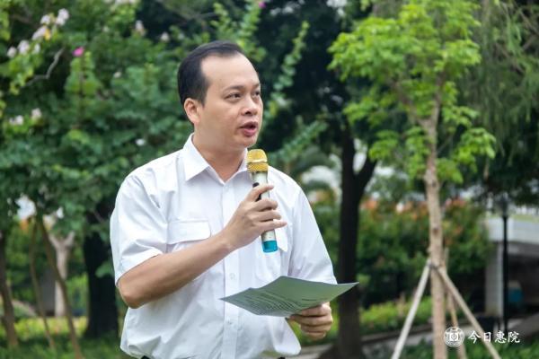 惠州市委宣传部副部长、文明办主任韩维斌讲话