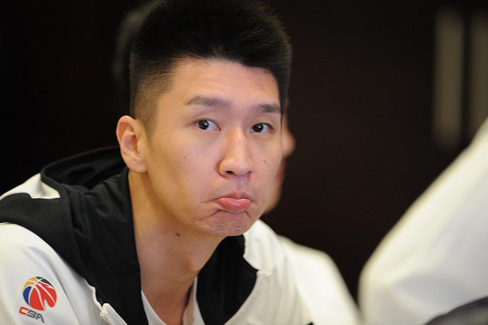 孙悦在新赛季出征仪式上。