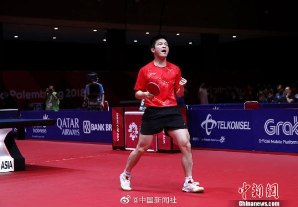 乒乓球世界杯团体赛:中国男团战胜韩国,实现八连冠