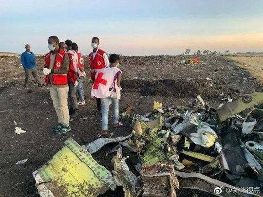 埃塞航空空难遇难者遗骸遗物认领工作完成。 @新华视点 资料图