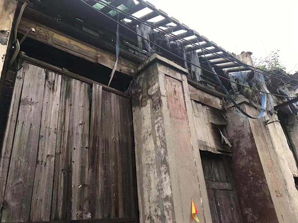 常州市文保、画家刘海粟家族宗祠被指修缮烂尾:房屋濒临倒塌