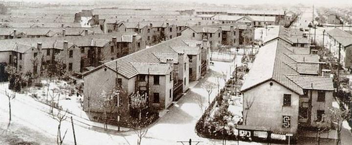 曹杨新村俯瞰,图片来源:互联网
