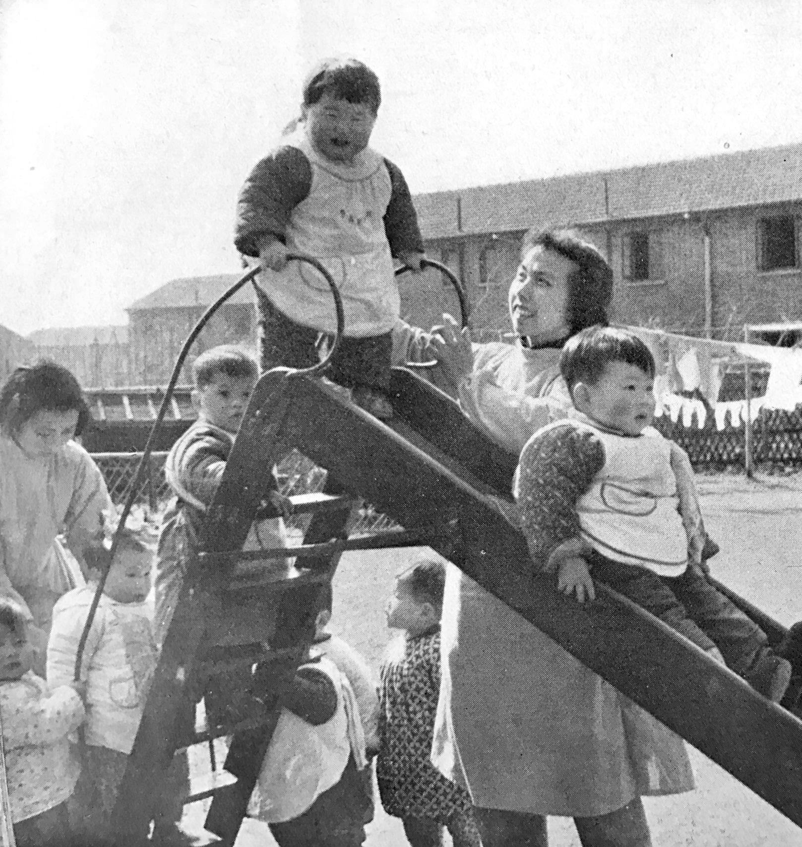 1957年曹杨新村内的生活性组织:托儿所中国人民对外文化协会上海市分会 图