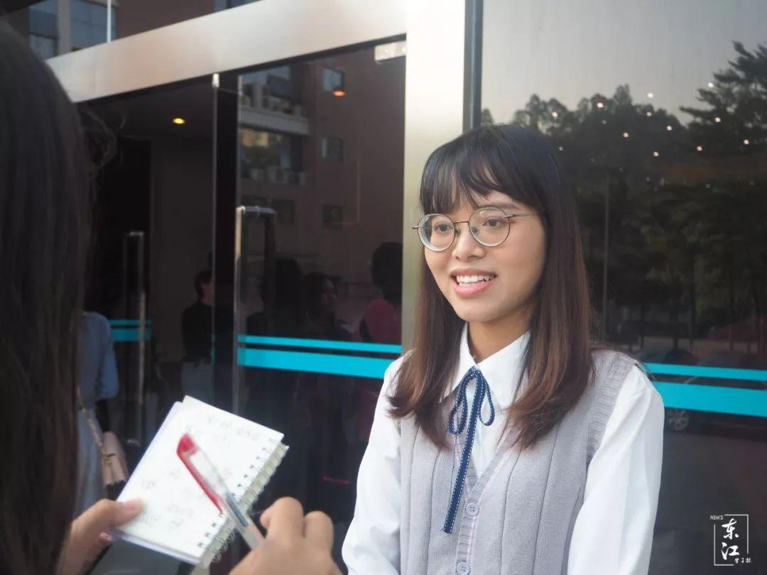 17级广播电视学一班学生陈恩妮