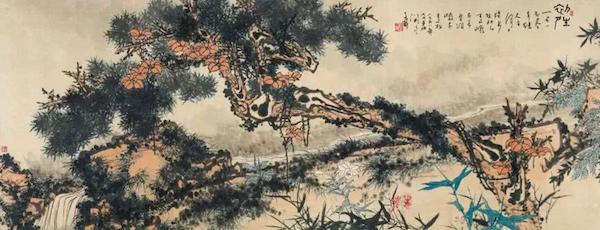 """潘天寿""""一棵松树""""2亿多,李可染《井冈山》1.38亿成交"""