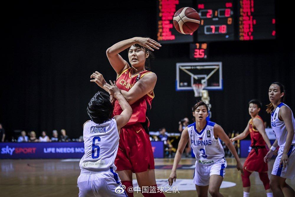 127:49大胜菲律宾,中国女篮拿下东京奥运会资格赛席位