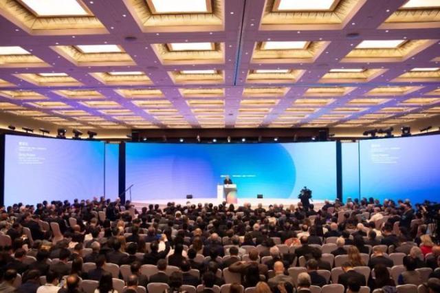 2019创新经济论坛现场。