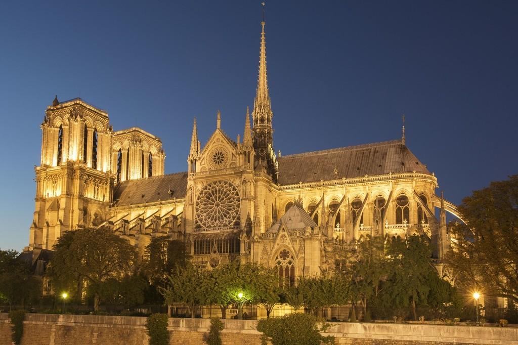 巴黎圣母院。 ICphoto 资料图