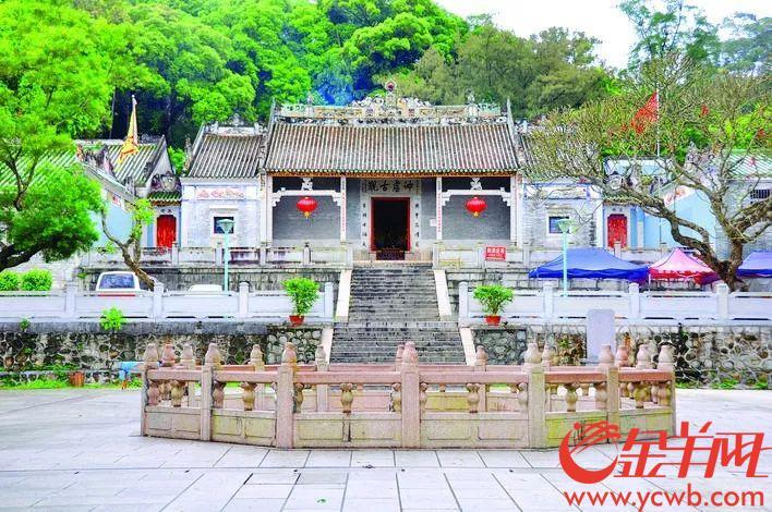 葛洪当年隐居的罗浮山,冲虚古馆已入列全国重点文保单位 图/惠州新闻网