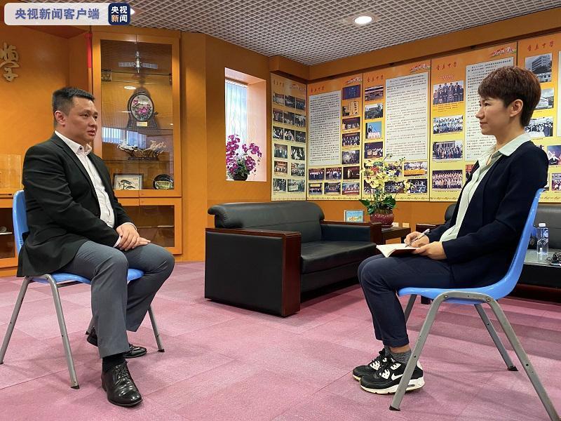 CGTN刘欣对话香岛中学校长:香港通识教育被政治化