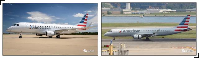 美航集团的E系列中,E175属于美鹰航空,E190则属于美国航空