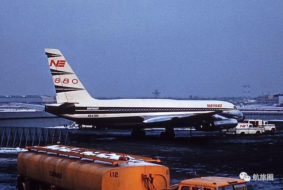 美国东北航空的康维尔CV-880,支线客机很难与其竞争