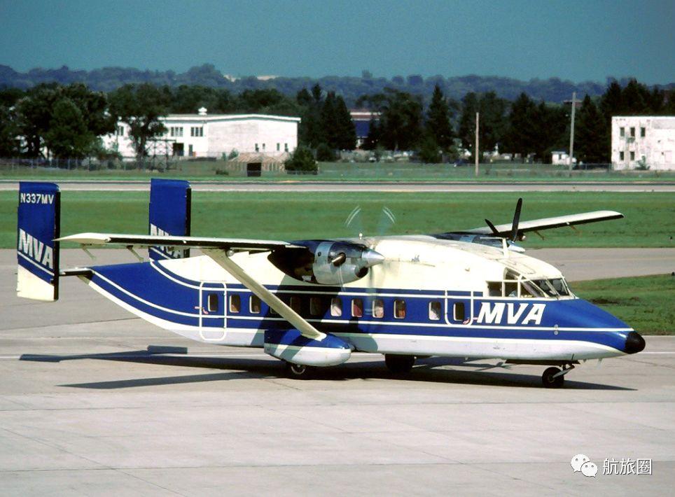密西西比峡谷航空的肖特330,虽然有些丑但是经济性好