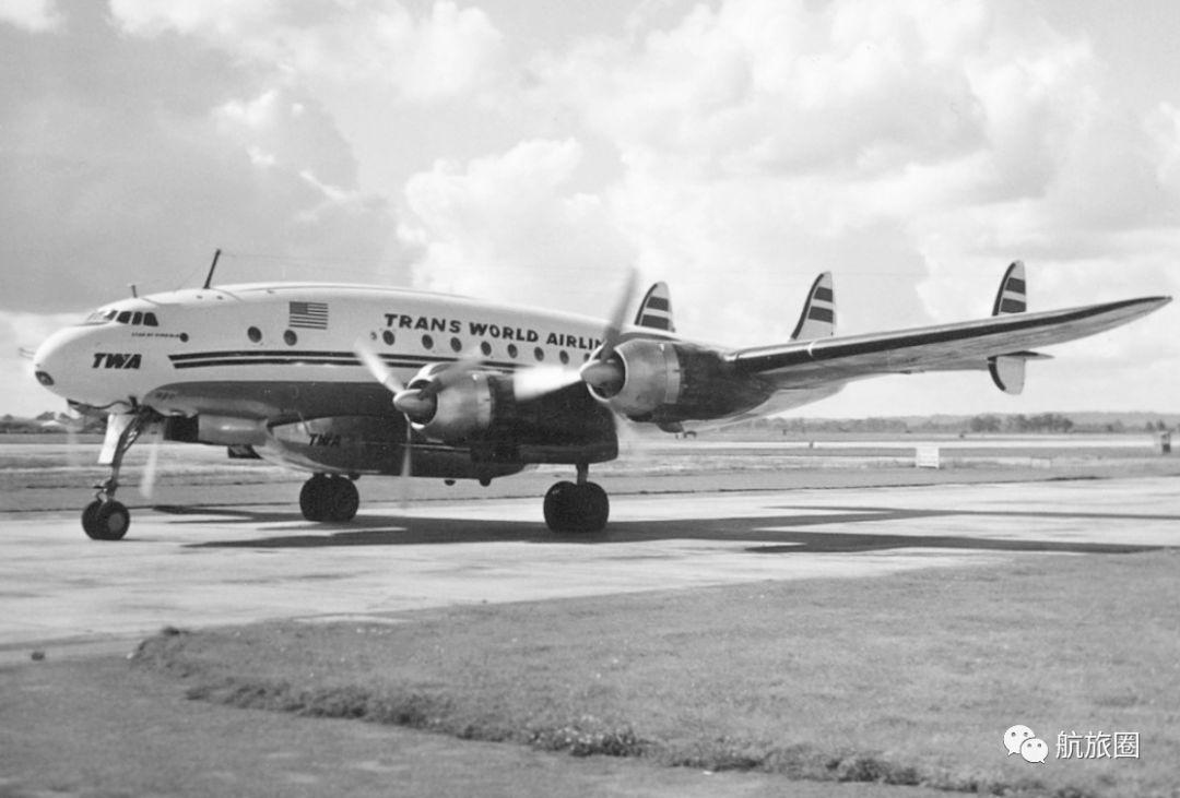 """环球航空公司的洛克希德L-749""""星座"""""""