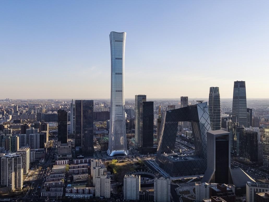 """北京最高地标""""中国尊""""通过竣工验收,建筑高度528米"""