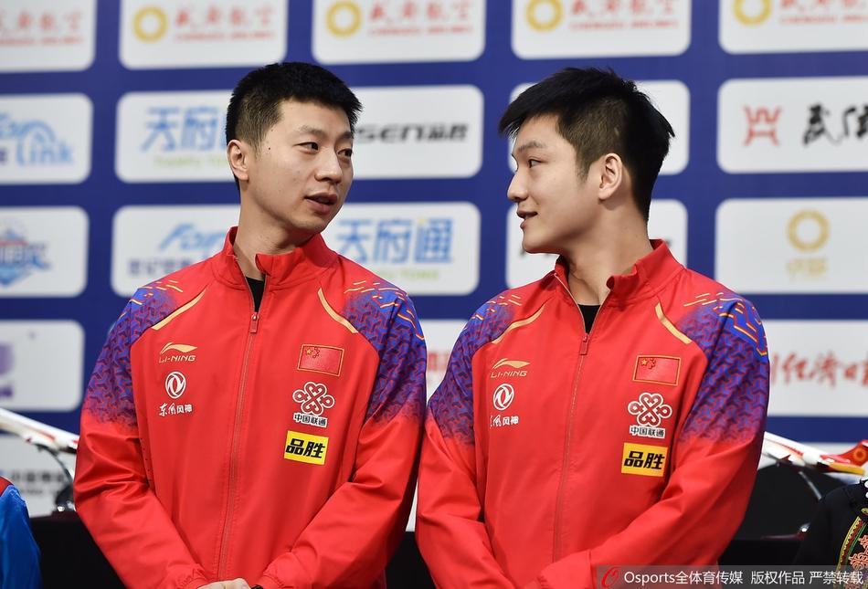 马龙、樊振东双双状态回升,谁能加冕男乒世界杯三冠王