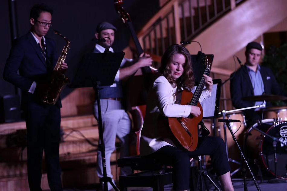 德国古典爵士室内乐音乐会。