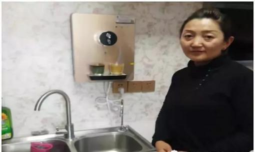 曲麻莱:社区装上净水机 居民喝上放心水